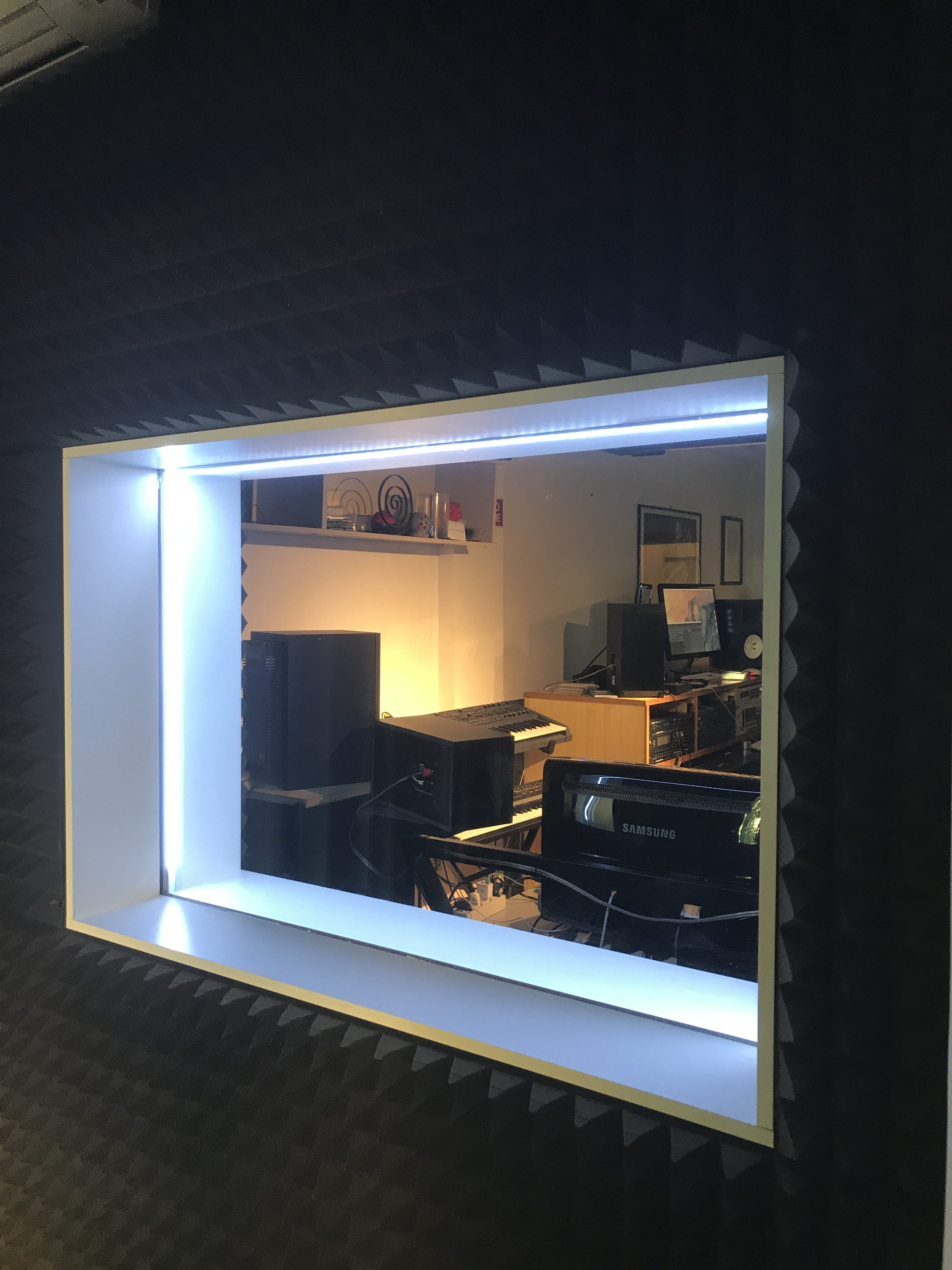 Studio sala vetro